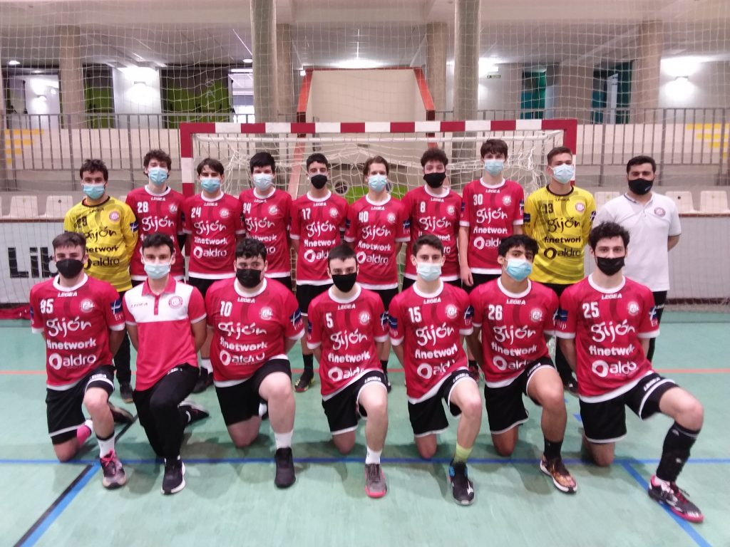 juvenil B Finetwork Gijón JOvellanos 2021